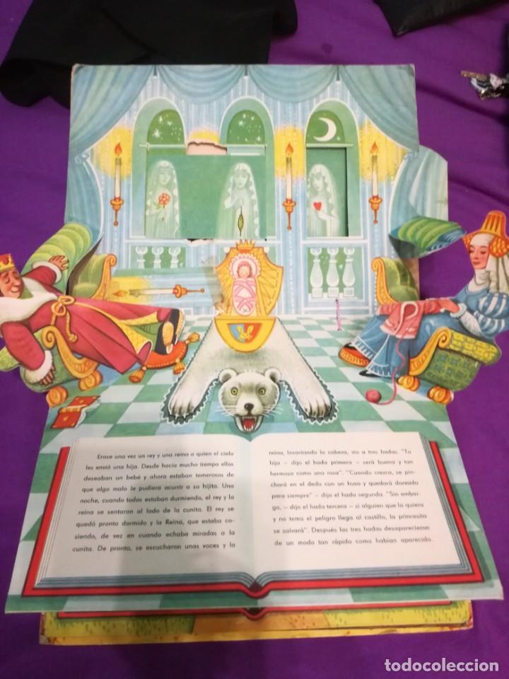 Libros de segunda mano: La bella durmiente (V.Kubasta&Bancroft&Co) Pop up - Foto 3 - 172002210