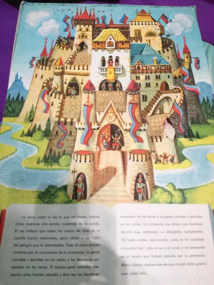 Libros de segunda mano: La bella durmiente (V.Kubasta&Bancroft&Co) Pop up - Foto 4 - 172002210
