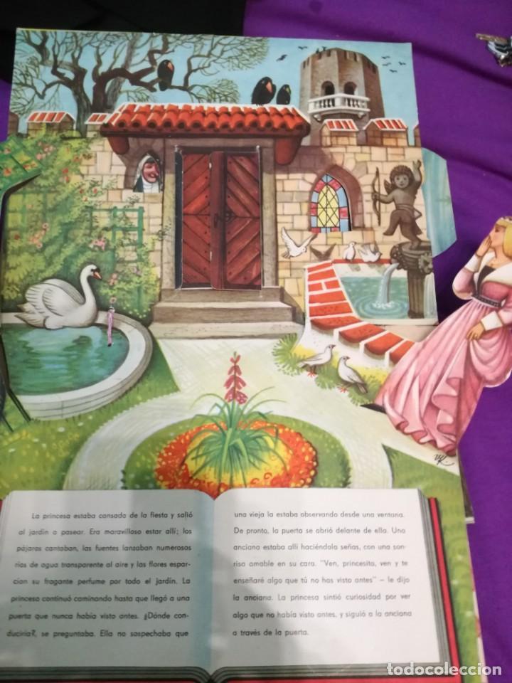 Libros de segunda mano: La bella durmiente (V.Kubasta&Bancroft&Co) Pop up - Foto 5 - 172002210