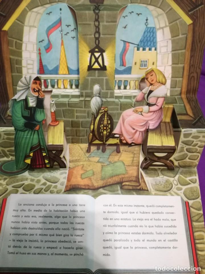 Libros de segunda mano: La bella durmiente (V.Kubasta&Bancroft&Co) Pop up - Foto 6 - 172002210
