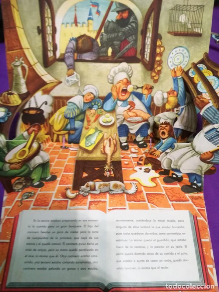 Libros de segunda mano: La bella durmiente (V.Kubasta&Bancroft&Co) Pop up - Foto 7 - 172002210