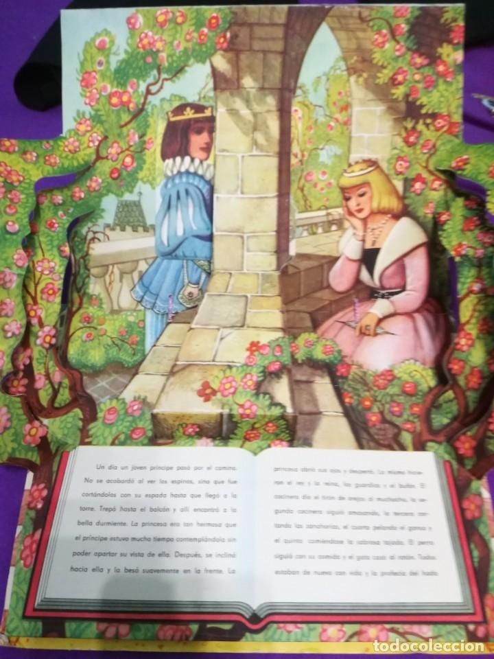Libros de segunda mano: La bella durmiente (V.Kubasta&Bancroft&Co) Pop up - Foto 8 - 172002210