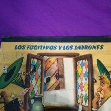 Libros de segunda mano: LOS FUGITIVOS Y LOS LADRONES (V.KUBASTA&BANCROFT&CO) POP UP. Lote 172002524