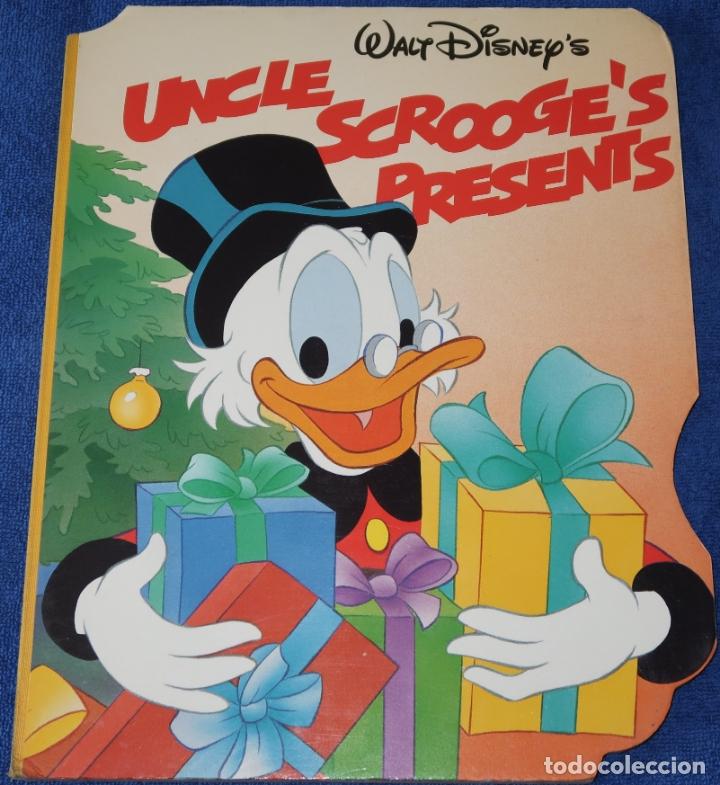 UNCLE SCROOGE'S PRESENTS - WALT DISNEY - TWIN BOOKS (1989) (Libros de Segunda Mano - Literatura Infantil y Juvenil - Cuentos)
