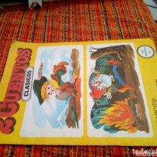 Libros de segunda mano: 2 CUENTOS CLÁSICOS 1981. Lote 172354182