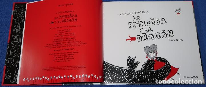 Libros de segunda mano: La fantástica historia de la princesa y el dragón - Sonia Alins - Parramon (2010) - Foto 3 - 172363800