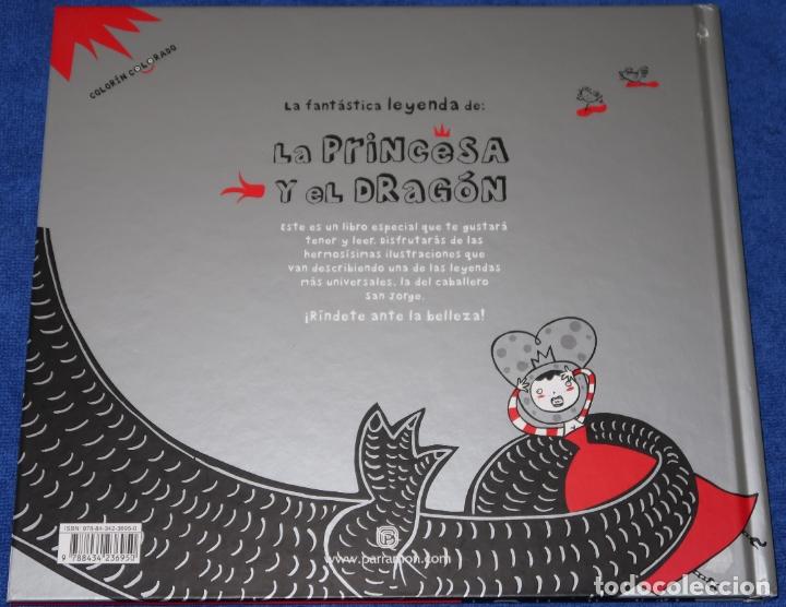 Libros de segunda mano: La fantástica historia de la princesa y el dragón - Sonia Alins - Parramon (2010) - Foto 6 - 172363800