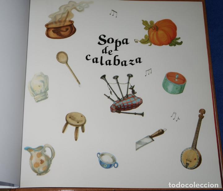 Libros de segunda mano: Sopa de calabaza - Helen Cooper - Editorial Juventud (2019) - Foto 2 - 172364427