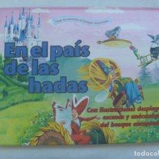 Libros de segunda mano: EN EL PAIS DE LAS HADAS . CUENTO CON ESCENAS EN 3 -D , ILUSTRACIONES DE TONY WOLF . 1999. Lote 289518768