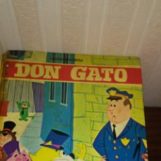 Libros de segunda mano: CUENTO DE DON GATO ,COLECCION INFANTIL TELEFHER ,EDITORIAL FHER AÑO 1969 ,TAPA DURA. Lote 173414019