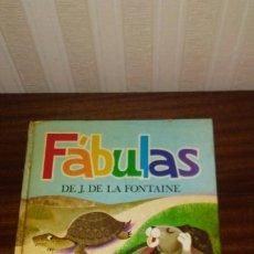 Libros de segunda mano: CUENTO DE FABULAS DE LA FONTAINE ,EDITORIAL SUSAETA ,AÑOS 60. Lote 173458513