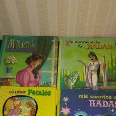 Libros de segunda mano: LOTE DE 4 EJEMPLARES DE CUENTOS HADASDIFERENTES COLECCIONES Y EDITORISLES ;SON DE LOS AÑOS 60-70. Lote 173459425