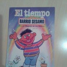 Libros de segunda mano: EL TIEMPOBARRIO SESAMO 8 PARRAMON 1985. Lote 173576368