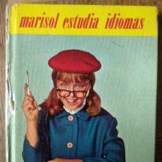 Libros de segunda mano: MARISOL ESTUDIA IDIOMAS - COLECCION FRANJA AMARILLA DE FELICIDAD Nº 6 , 1963 -. Lote 173648898