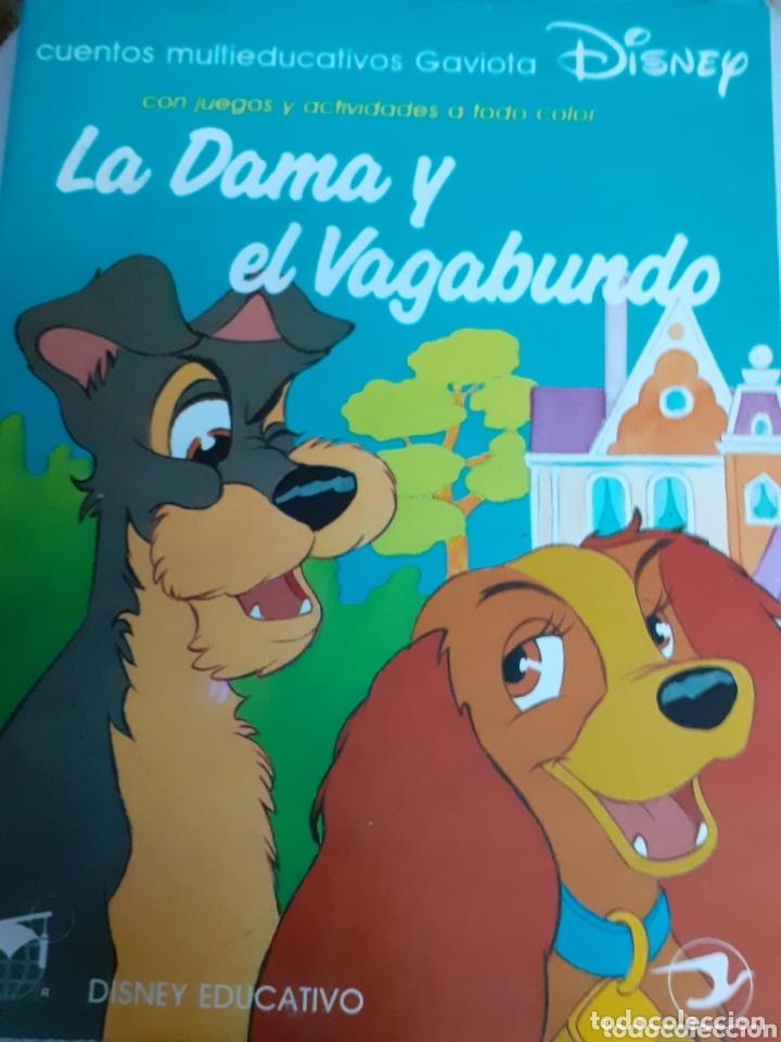 Libros de segunda mano: CUENTO DISNEY EDUCATIVO.-LA DAMA Y EL VAGABUNDO. AÑO 1990 - Foto 2 - 173685578