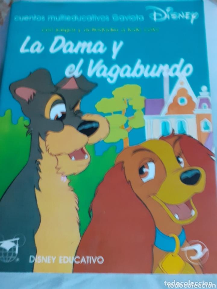CUENTO DISNEY EDUCATIVO.-LA DAMA Y EL VAGABUNDO. AÑO 1990 (Libros de Segunda Mano - Literatura Infantil y Juvenil - Cuentos)