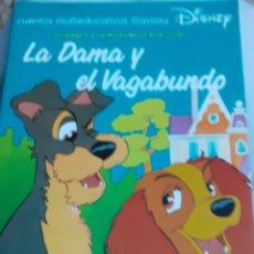 Libros de segunda mano: CUENTO DISNEY EDUCATIVO.-LA DAMA Y EL VAGABUNDO. AÑO 1990. Lote 173685578