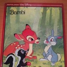 Libros de segunda mano: BAMBI / ALICIA EN EL PAÍS DE LAS MARAVILLAS (EDITORIAL EVEREST). Lote 173712489
