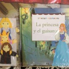 Libros de segunda mano: TEATRO CUENTO. LA PRINCESA Y EL GUISANTE. Lote 173895264