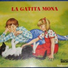 Libros de segunda mano: LA GATITA MONA - UN IRROMPIBLE - MONTENA (1984). Lote 174024297