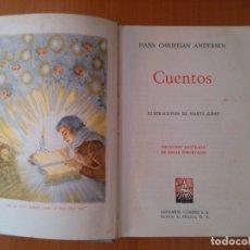 Libros de segunda mano: CUENTOS. HANS CHRISTIAN ANDERSEN.. Lote 174059653