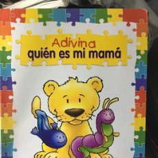 Libros de segunda mano: ADIVINA QUIEN ES MI MAMA SUSAETA. Lote 174147585
