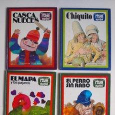 Libros de segunda mano: 4 CUENTOS BIBLIOTECA INFANTIL RTVE MARPOL - 1977. Lote 174227267