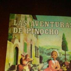 Libros de segunda mano: LAS AVENTURAS DE PINOCHO ,COECCION CLASICOS DE JUVENTUD AÑOS 80 EDITORIAL ALFREDO ORTELLS. Lote 174256263