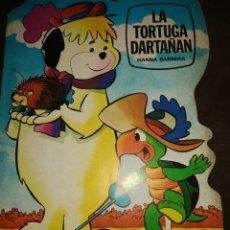 Libros de segunda mano: LA TORTUGA DARTAÑAN. CUENTO TROQUELADO. HANNA BARBERA. SUPER TROQUELADOS TELECOLOR 3. AÑO 1981. PESO. Lote 174312730