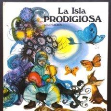 Libros de segunda mano: LA ISLA PRODIGIOSA ILUSTRACIONES FERNANDO SÁEZ SUSAETA EDICIONES 1974 AÑOS 70 TAPA DURA. Lote 174417103