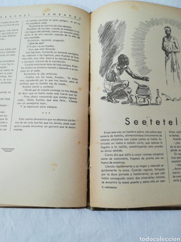 Libros de segunda mano: CUENTOS POPULARES AFRICANOS - EDITORIAL MOLINO - 1958 - Foto 6 - 174437399