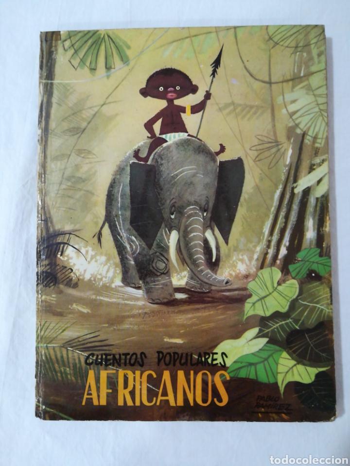 CUENTOS POPULARES AFRICANOS - EDITORIAL MOLINO - 1958 (Libros de Segunda Mano - Literatura Infantil y Juvenil - Cuentos)