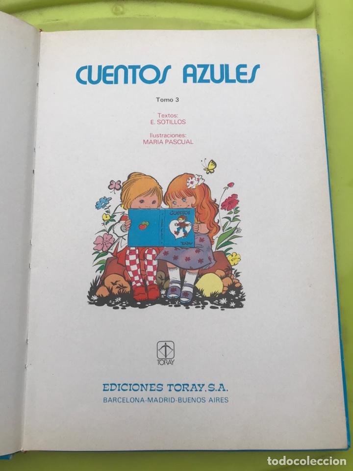 Libros de segunda mano: CUENTOS AZULES. TORAY. Tomo 3. 1982. - Foto 4 - 174587227
