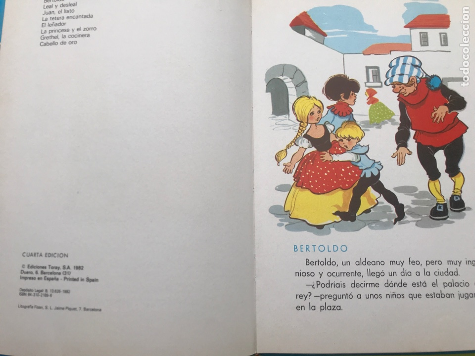 Libros de segunda mano: CUENTOS AZULES. TORAY. Tomo 3. 1982. - Foto 5 - 174587227