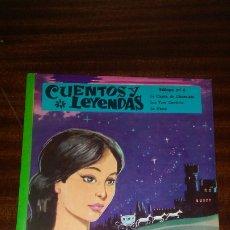 Libros de segunda mano: CUENTOS Y LEYENDAS EDITORIAL VASCO AMERICANA AÑO 1972 ,CONTIENE 3 TITULOS,Y ESTA PERFECTO. Lote 174671659