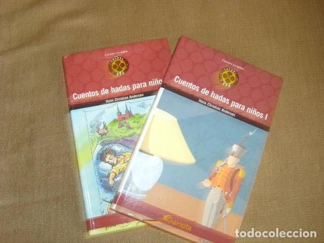 CUENTOS DE HADAS PARA NIÑOS 1 Y 2 , HANS CHRISTIAN ANDERSEN 2 TOMOS (Libros de Segunda Mano - Literatura Infantil y Juvenil - Cuentos)