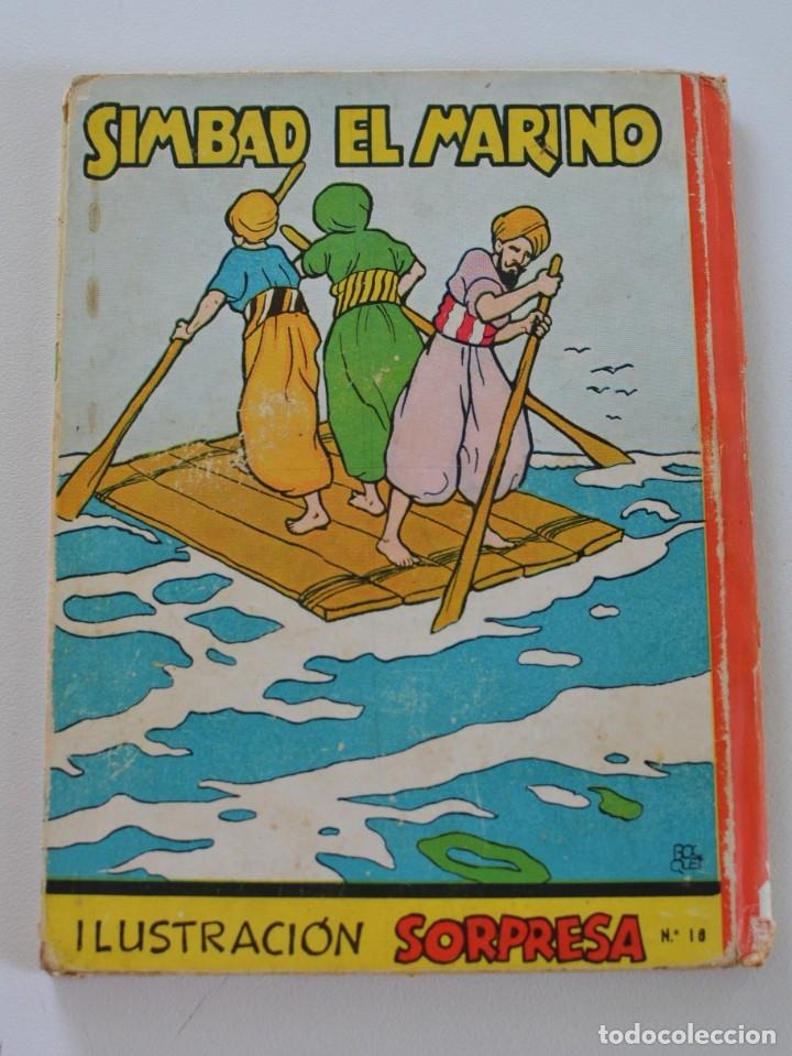 Libros de segunda mano: SIMBAD EL MARINO (LIBRO MOVIL EN 3-D) ILUSTRACIÓN SORPRESA Nº 10 - EDITORIAL MOLINO AÑOS 50 - Foto 2 - 175229303