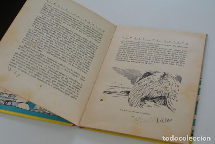 Libros de segunda mano: SIMBAD EL MARINO (LIBRO MOVIL EN 3-D) ILUSTRACIÓN SORPRESA Nº 10 - EDITORIAL MOLINO AÑOS 50 - Foto 3 - 175229303