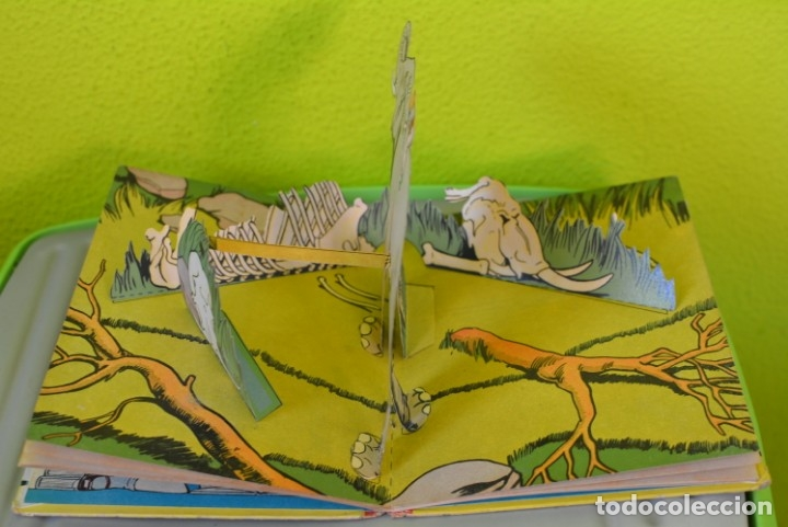 Libros de segunda mano: SIMBAD EL MARINO (LIBRO MOVIL EN 3-D) ILUSTRACIÓN SORPRESA Nº 10 - EDITORIAL MOLINO AÑOS 50 - Foto 7 - 175229303
