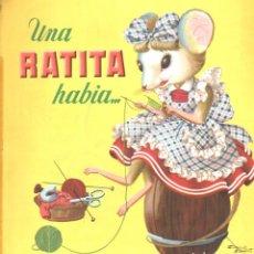 Libros de segunda mano: UNA RATITA HABÍA (BRUGUERA, S.F.). Lote 175355449