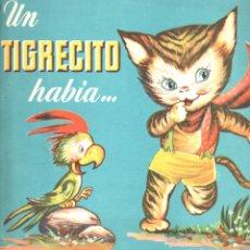 Libros de segunda mano: UN TIGRECITO HABÍA (BRUGUERA, S.F.) ILUSTRADO POR SABATÉS. Lote 175355517