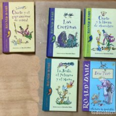 Libros de segunda mano: 5 CUENTOS DE ROALD DAHL, ILUSTRADOS POR QUENTIN BLAKE. Lote 135454470