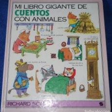 Libros de segunda mano: MI LIBRO GIGANTE DE CUENTOS CON ANIMALES - RICHARD SCARRY - SUSAETA (1990). Lote 175688492