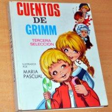 Libros de segunda mano: CUENTOS DE GRIMM - 3ª SELECCIÓN - ILUSTRACIONES DE MARÍA PASCUAL - EDITORIAL TORAY - AÑO 1969. Lote 175787098