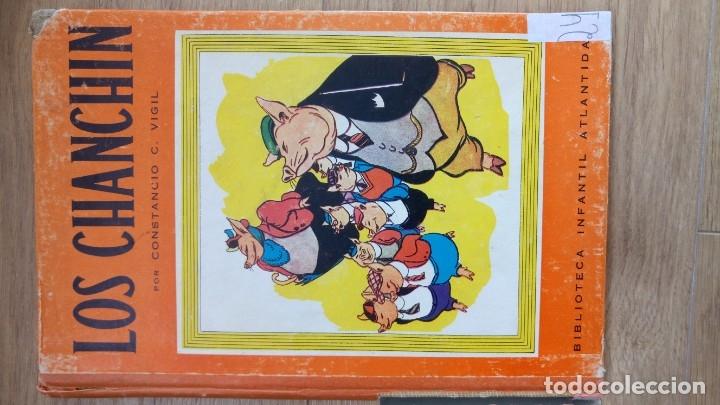 LOS CHANCHIN. CONSTANCIO VIGIL. 1943 (Libros de Segunda Mano - Literatura Infantil y Juvenil - Cuentos)