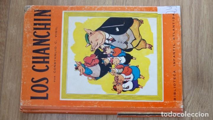 Libros de segunda mano: Los Chanchin. Constancio Vigil. 1943 - Foto 3 - 175836725