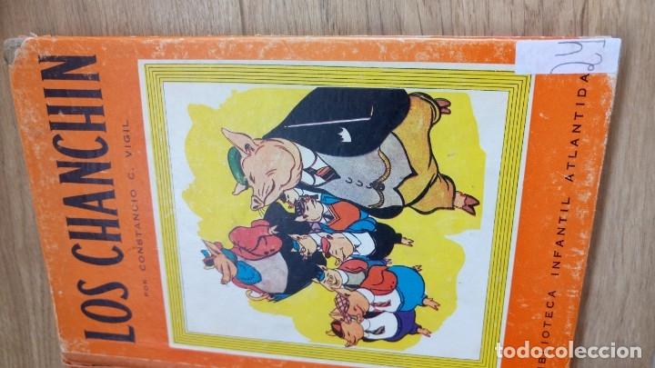 Libros de segunda mano: Los Chanchin. Constancio Vigil. 1943 - Foto 4 - 175836725