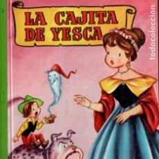 Libri di seconda mano: LA CAJITA DE YESCA - BRUGUERA INFANCIA, 1959 - ILUSTRACIONES DE CIFRÉ. Lote 175851065