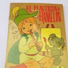 Libros de segunda mano: EL FLAUTISTA DE HAMELIN - 8 CUENTOS DE PINTAR Y LEER - TDK366. Lote 175873209