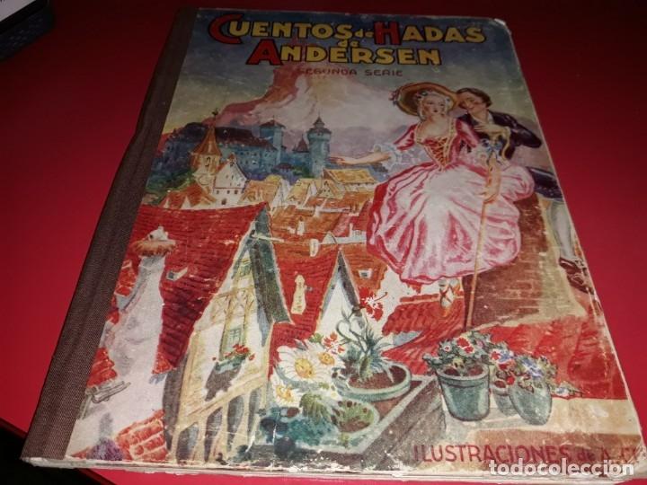 CUENTOS DE HADAS DE ANDERSEN ILUSTRACIONES DE A. COLL EDITORIAL MOLINO 1942 (Libros de Segunda Mano - Literatura Infantil y Juvenil - Cuentos)